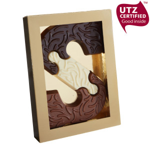 chocolade puzzel letter