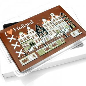 Chocolade tablet I love Holland